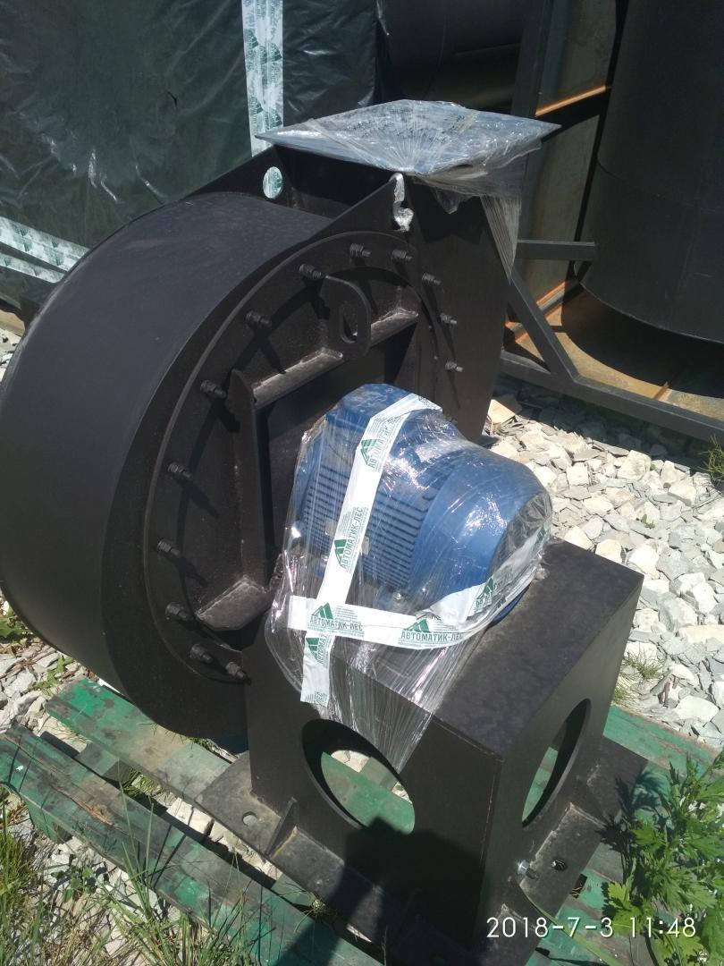 Дымосос в комплекте с мотор-редуктором итальянского производства