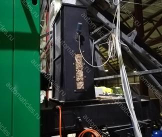 Дозатор шахтный с гидравлическим толкателем