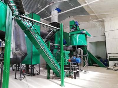 Линия производства пеллет