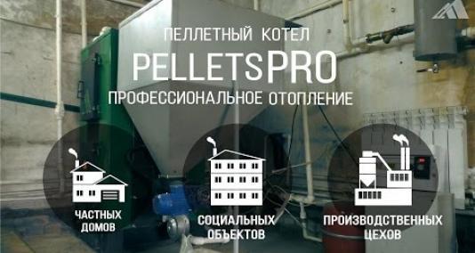 Embedded thumbnail for Пеллетный котел с автоматической загрузкой PelletsPro с водяным контуром